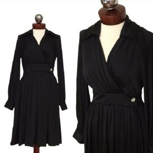 Vintage 70's Eva Gabor by ESTEVEZ wrap dress 12